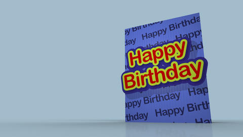 Pop-Out 3D Greetings Cards After Effects Template
