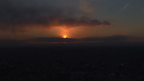 Sunset view Stock Video Footage