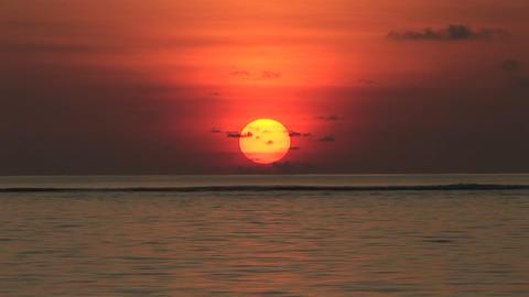 Rising sun Stock Video Footage