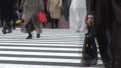 Urban commuter Stock Video Footage