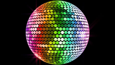 Mirror Ball 2 Fr 1 HD Stock Video Footage