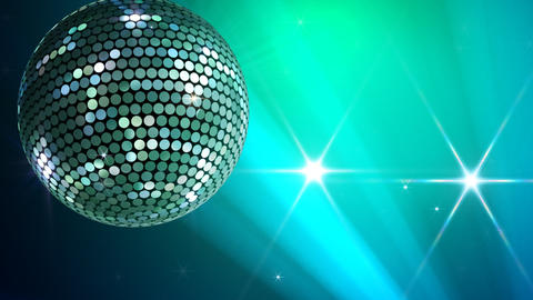 Mirror Ball 2 Na 2 HD Stock Video Footage