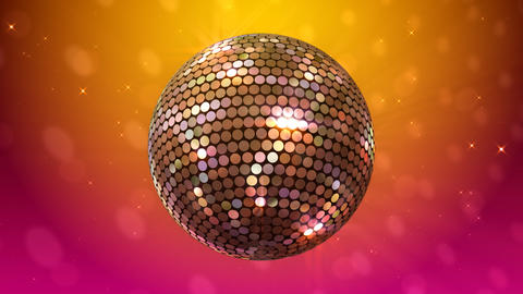 Mirror Ball 2 Ba 1 HD Stock Video Footage