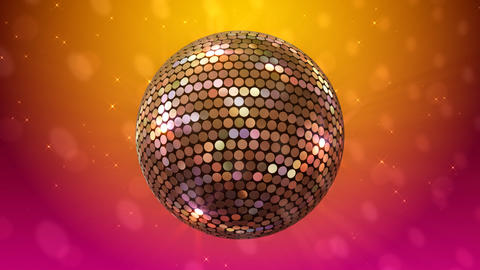 Mirror Ball 2 Ba 1 HD Stock Video Footage