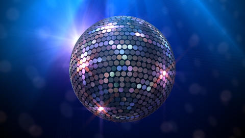 Mirror Ball 2 Bb 1 HD Stock Video Footage