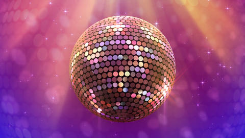 Mirror Ball 2 Bc 1 HD Stock Video Footage