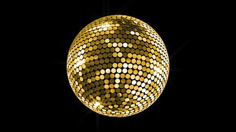 Mirror Ball 2 Bg 1 HD Stock Video Footage