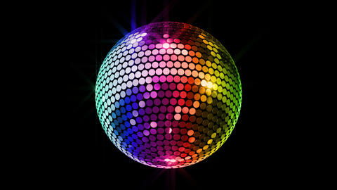 Mirror Ball 2 Br 2 HD Stock Video Footage
