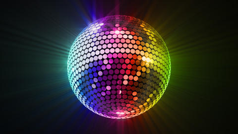 Mirror Ball 2 Br 4 HD Stock Video Footage