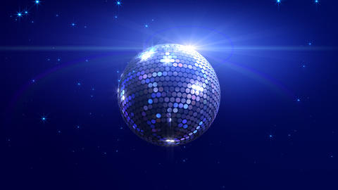 Mirror Ball 2 Sd 1 HD Stock Video Footage