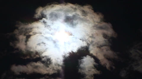 Floating clouds Stock Video Footage