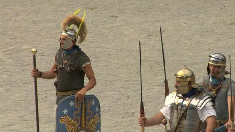 roman praetorian 10 Stock Video Footage