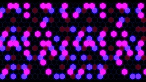 Hexagon 3 Aa 2 HD Stock Video Footage