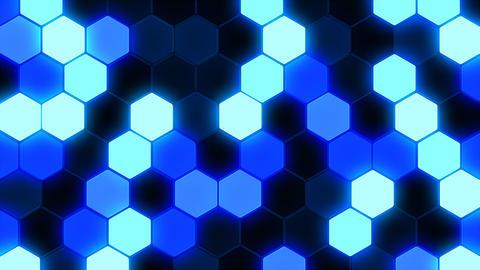 Hexagon 3 Bb 1 HD Stock Video Footage
