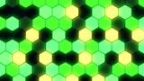 Hexagon 3 Bb 3 HD Stock Video Footage
