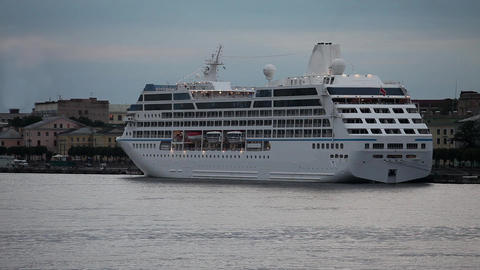cruise ship Stock Video Footage