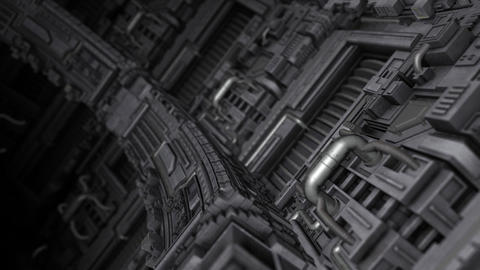 Industrial Curved Surface Animation