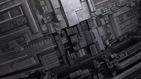 Industrial Exterior Surface Animation