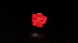 Spinning whirligig spinner toy tool. Slow motion Footage