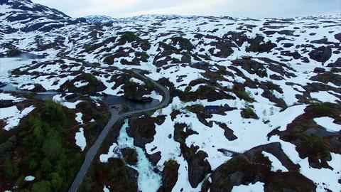 Ryfylke national tourist road Footage