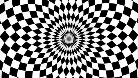 kaleidoscopic and hypnotic background Animation