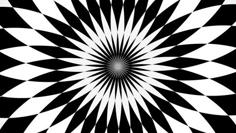 kaleidoscopic and hypnotic background Stock Video Footage