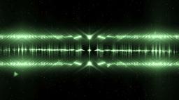Audio Green Equalizer Music Animation