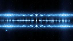 Audio Blue Equalizer Music Animation