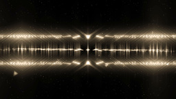 Audio Gold Equalizer Music Animation
