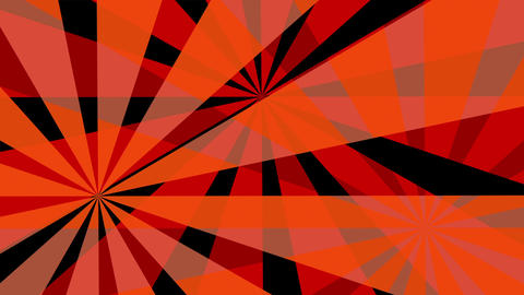 Retro Pinwheels Psychedelic Hypnotic VJ Background loop 7 red Animation