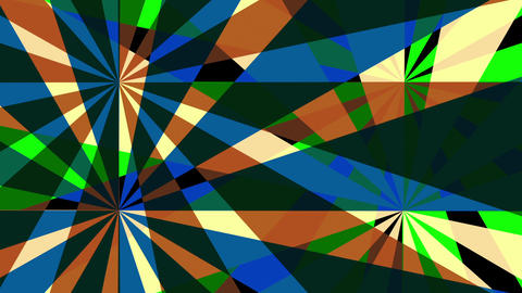Retro Pinwheels Psychedelic Hypnotic VJ Background loop 10 colorful Animation