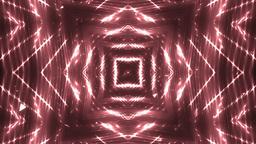 Fractal Red Kaleidoscopic Background Animation