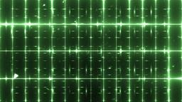 VJ Floodlights Disco Green Background Animation