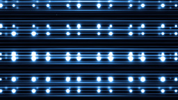 VJ Floodlights Disco Blue Background Animation