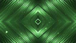 Vj Background Green Motion With Fractal Design Animation