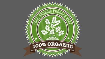 Organic Badge 1 After Effects Project