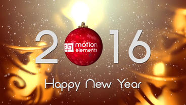 Your Logo On Christmas Ball (Happy New Year) After Effects Template