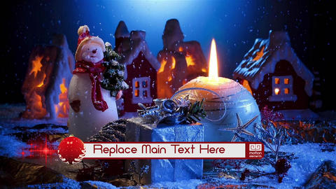 Christmas Lower Third After Effects Template