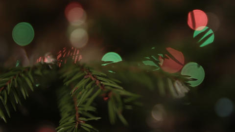 1080p Ungraded: Christmas Tree Bokeh Live Action