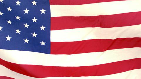 American flag blowing Footage