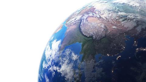 Earth w F 2n 4 K Animation