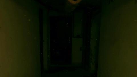 4K Scary Cellar Corridor in Old Building v2 2 Footage