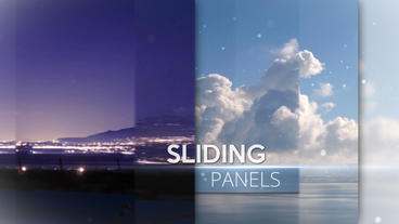 Sliding Panels - Apple Motion and Final Cut Pro X Template Apple Motionテンプレート