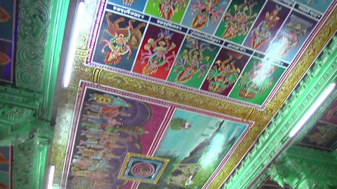 MUDARAI, INDIA – SEP 23, 2011: Meenakshi Amman Hindu Temple Footage