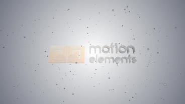 Elegant Simple Logo stock footage