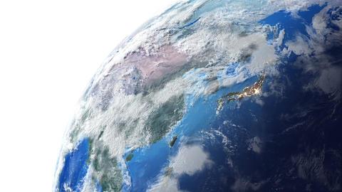 Earth w E 2n 4 K Animation