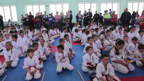 Shinkyokushinkai Karate Championship: Winner's reward ceremony Live Action
