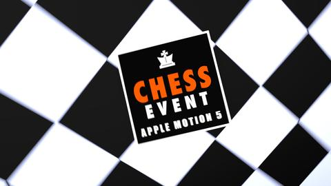 Chess Event - Promo Intro Apple Motion Template