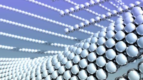 Reflective Vector Balls Background Animation