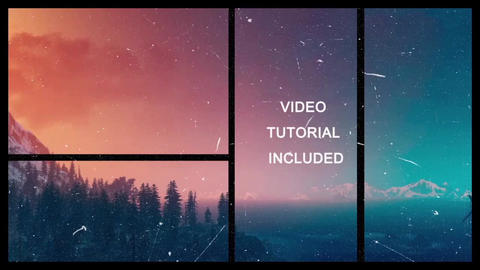 Simple Style - 2 versions After Effects Template